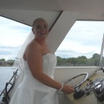 Bride at the Helm